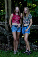 Indianapolis Senior Photographer | Wehrle Twins | Ritter HS