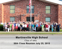 Martinsville HS Class of 65's 50th