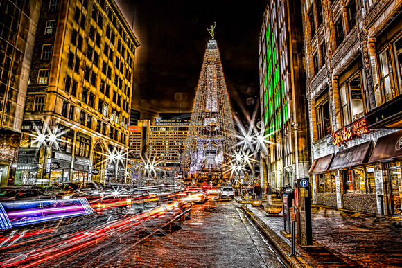 Christmas In Indianapolis.Connie Etter Photography Lights In Indianapolis